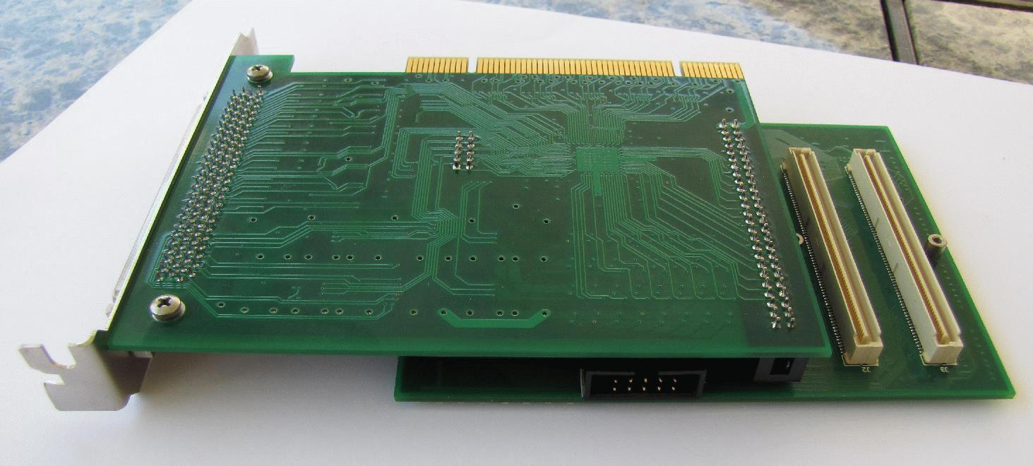 DSP-PCI assembly, bottom view